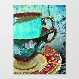 Madhatter's Teaparty No.30 Canvas Print