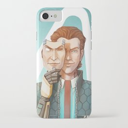 A Handsome Man iPhone Case