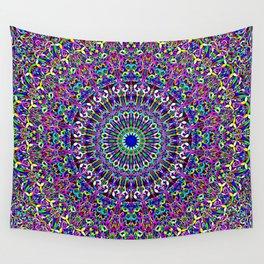 Happy Bohemian Jungle Mandala Wall Tapestry