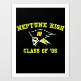 Neptune High Class of '06 Art Print