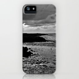 River to the open Danish Sea iPhone Case
