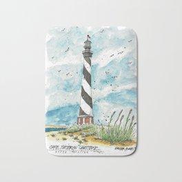Cape Hatteras Lighthouse Bath Mat