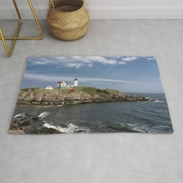 Nubble Lighthouse in Summer Rug