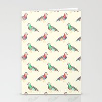 lsd Stationery Cards featuring LSD BIRDS by Michal Gorelick