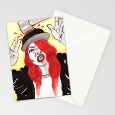 Halloween Costume Stationery Cards