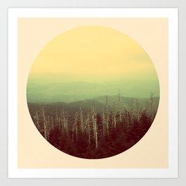 Mts. Art Print