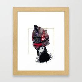 Haida Bear Framed Art Print