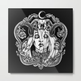 Devil's Bride Metal Print