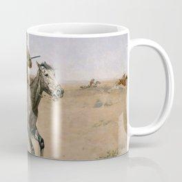"Frederic Remington Western Art ""The Flight"" Coffee Mug"