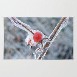Frozen Rosehip Rug
