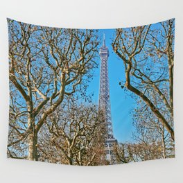 Eiffel Tower I Wall Tapestry