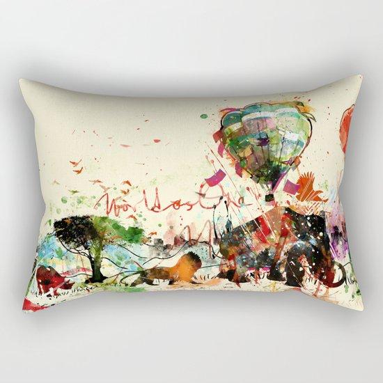 World as One : Human Kind Rectangular Pillow