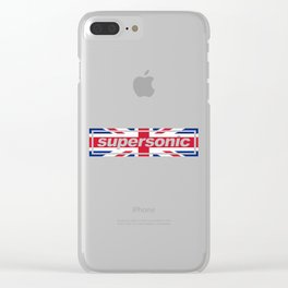 Supersonic Clear iPhone Case