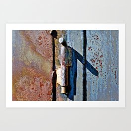 Bolted Art Print