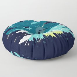 Stars and Constellations Floor Pillow