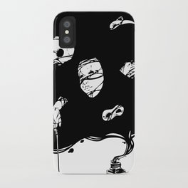 Tinta Negra iPhone Case