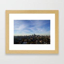 Center City 1 Framed Art Print
