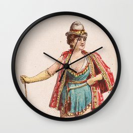 Julette, from the Ballet Queens Trading Cards series (N182) 1889 Wall Clock