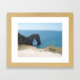 Durdle Door, Dorset, Photo 3 Framed Art Print