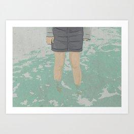 WATER Art Print