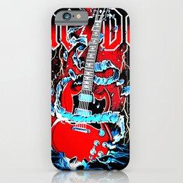 ACDC Guitar iPhone Case