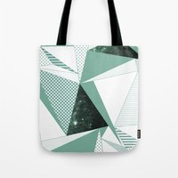 trip Tote Bags featuring trip by .eg.