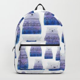 Perky Bear Print Backpack