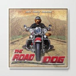 The Road Dog (vintage) Metal Print