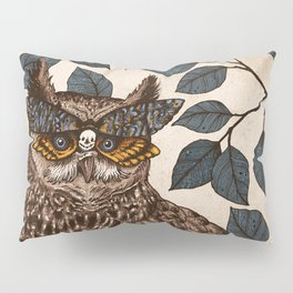 Deaths Head Pillow Sham