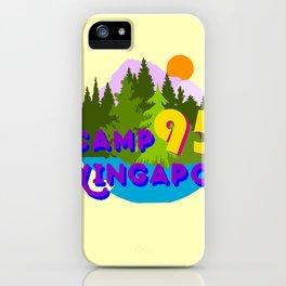 Camp Wingapo iPhone Case