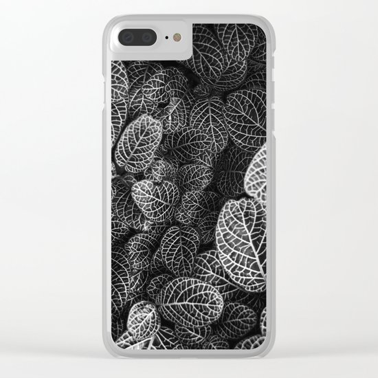 Curtain pattern 05 Clear iPhone Case