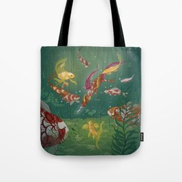 Ukiyo-e tale: The magic pen Tote Bag