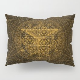 Dark Matter - Gold - By Aeonic Art Pillow Sham