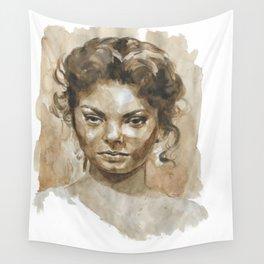 Jealous woman  Wall Tapestry
