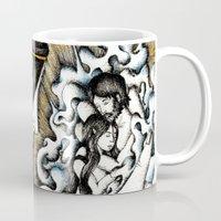 valar morghulis Mugs featuring Second meeting by Anca Chelaru