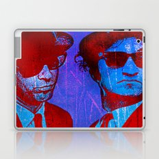 les frères bleu Laptop & iPad Skin