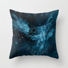 FIG. 756 color (Haliaeetus leucocephalus) Throw Pillow