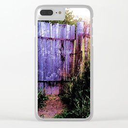 Enchanted Gateway Clear iPhone Case
