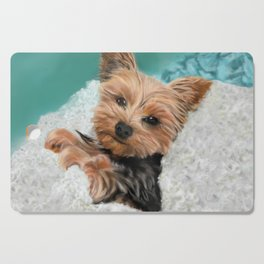 Chewie the Yorkie Cutting Board