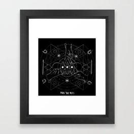 biffy x mandala Framed Art Print