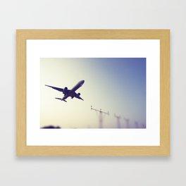 Flight3 Framed Art Print