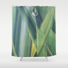 A drop of water Shower Curtain