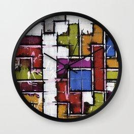 Life as Tetris Wall Clock