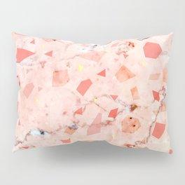 peachy marble (teenage room) Pillow Sham