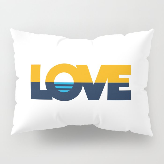 LOVE - People's Flag of Milwaukee Pillow Sham