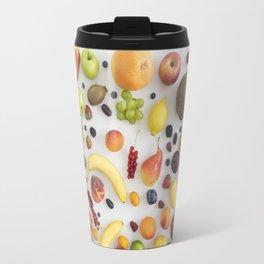Collection of summer fruits Travel Mug