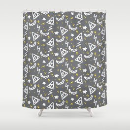 Potter Pattern Shower Curtain