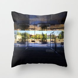 New Area in Morning Light Throw Pillow