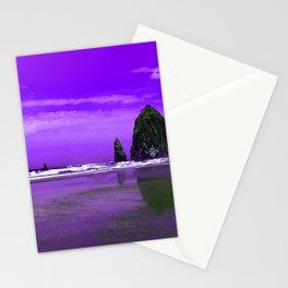 Oregon Coast Abstract Stationery Cards