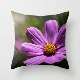 Smooth Petals Throw Pillow